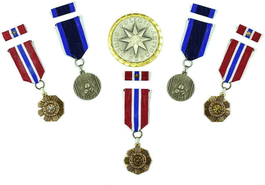 Medaile a plakety Policie ČR