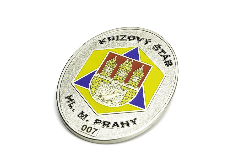Odznak krizového štábu hl.města Prahy