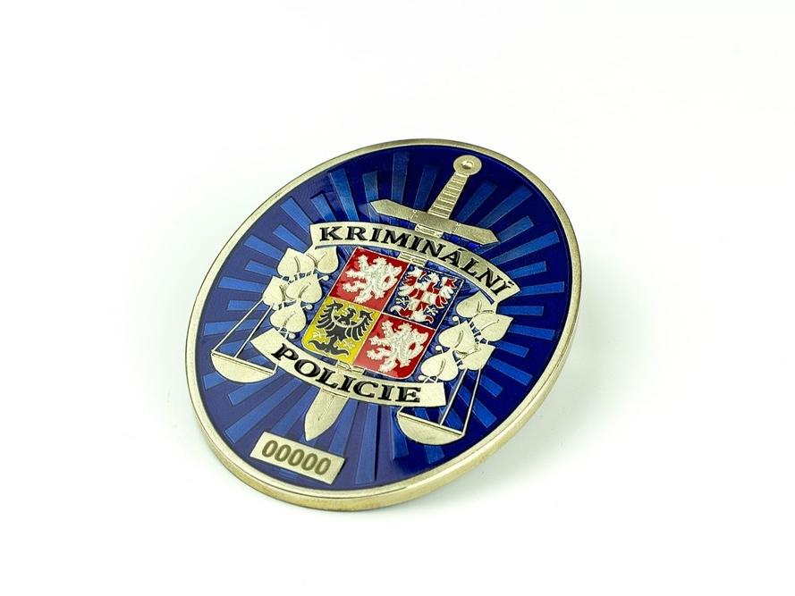 Vybarvený odznak SKPV